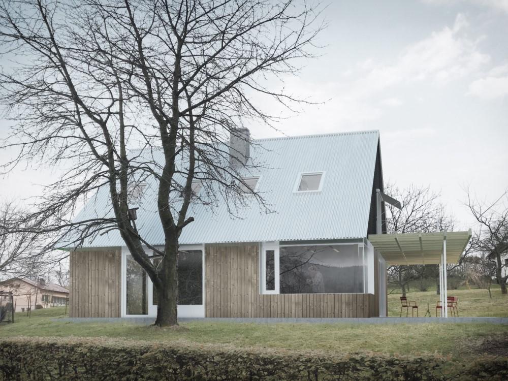 Rodinný dům v Lichnově